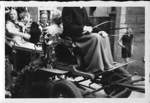 1953 Königspaar Ludger Blanke u. Lore Müller