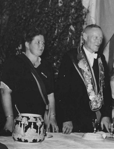 1954 Franz Kühlkamp und Frau Maria Droppelmann-2