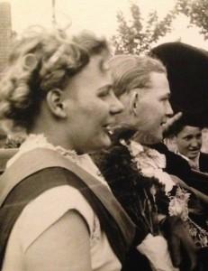 1955 Robert Muckelmann und Inge Schufen