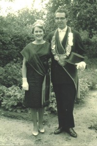 1961 August Iking und Monika Plenter
