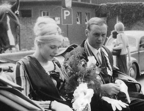 1965 Heinz Ficker und Resy Kösters