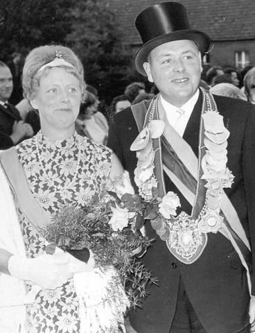 1967 Königspaar Claus Clemens und Maria Eissing