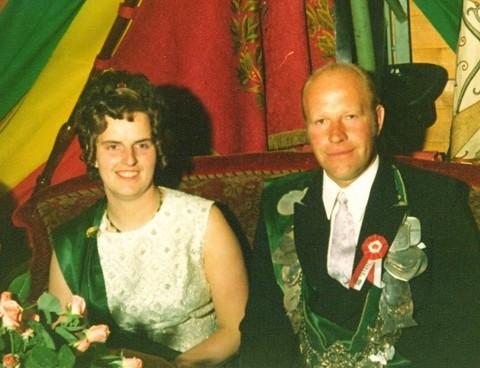 1972 König Hermann Möllers und Königin Elfriede Kröger