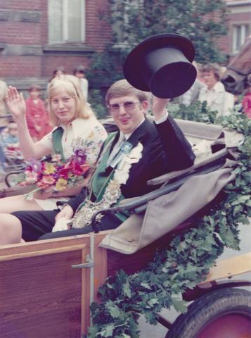1973 Königspaar Heinz Hölscher-Inge Richter