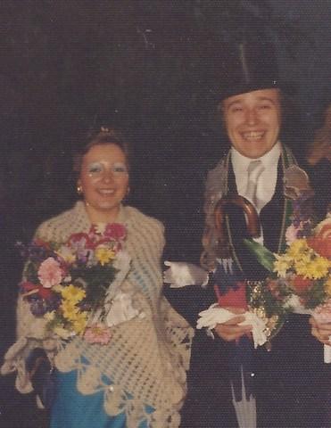 1974 Königspaar Franz Roßmöller und Gerty Grethen