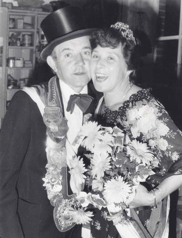 1978 Königspaar Josef Boll und Hilde Barenbrock