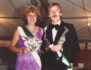 1980 Heinz Eißing und Gisela Renger