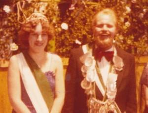 1981 Königspaar Gerd Dapper- Waltraud Gausling