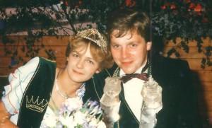1983 Thomas Kleideiter und Ulla Büter