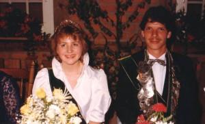 1985 Königspaar Bernhard Olthoff und Waltraud Kleideiter