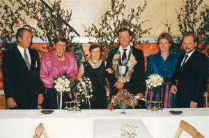 1987Heinz Iking und Friedel Hemker Thron