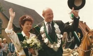 1990 Koenigspaar Josef Dresemann - Hanni Droppelmann