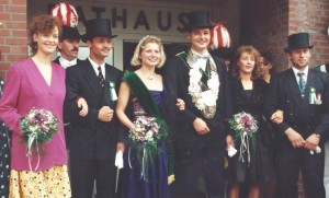 1992 Thron Thomas Volmer, Christa Plenter, Jutta Kellermann, Th