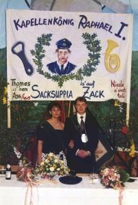 1995 Königspaar Raphael Karrasch und Ilona Soete