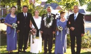 2006 THRON Franz-Josef Elfering,Hedwig Hemker,Anni Elfering,Friedel Hemker,Günter Kleideiter,Ludger Hemker
